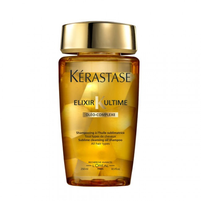 Elixir ultime moringa immortel gjeto 39 s salon day for Kerastase bain miroir shine revealing shampoo